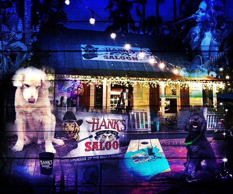 Hank's Hair of the Dog Saloon Key West main