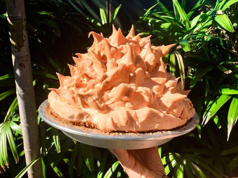 Key Lime Pie-Blue Heaven Restaurant Key West Florida