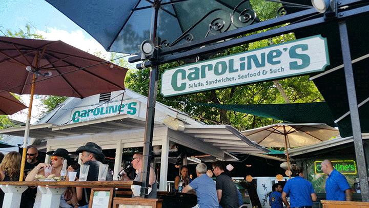 front-Caroline's Cafe restaurant-Key West, Florida