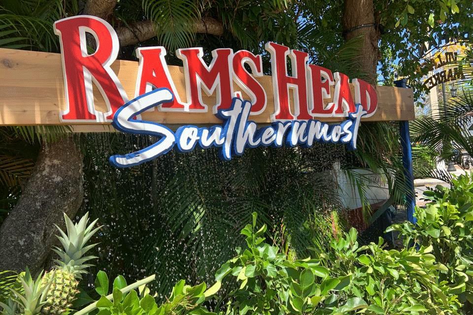 front-Rams Head Southernmost restaurant Key West