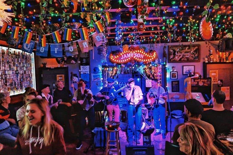 inside-Mary Ellens Bar Restaurant Key West Florida