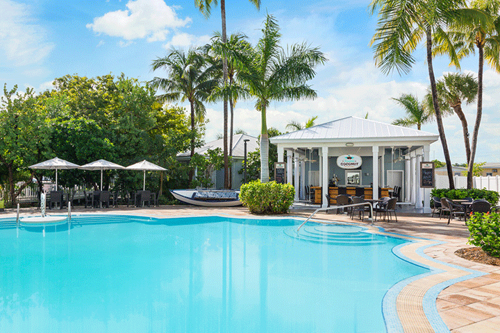 pool bar-Toasted Coconut 24 north hotel key west Florida