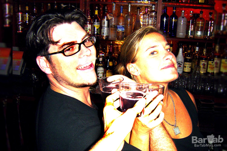 Cecil Witt and Nicole Schild, Bagatelle 2004 © BarTab magazine
