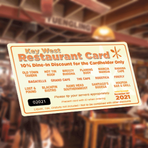 2021-Key-West-Restaurant-Discount-Card