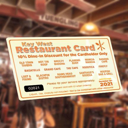 2021-Key-West-Restaurant-Discount-Card